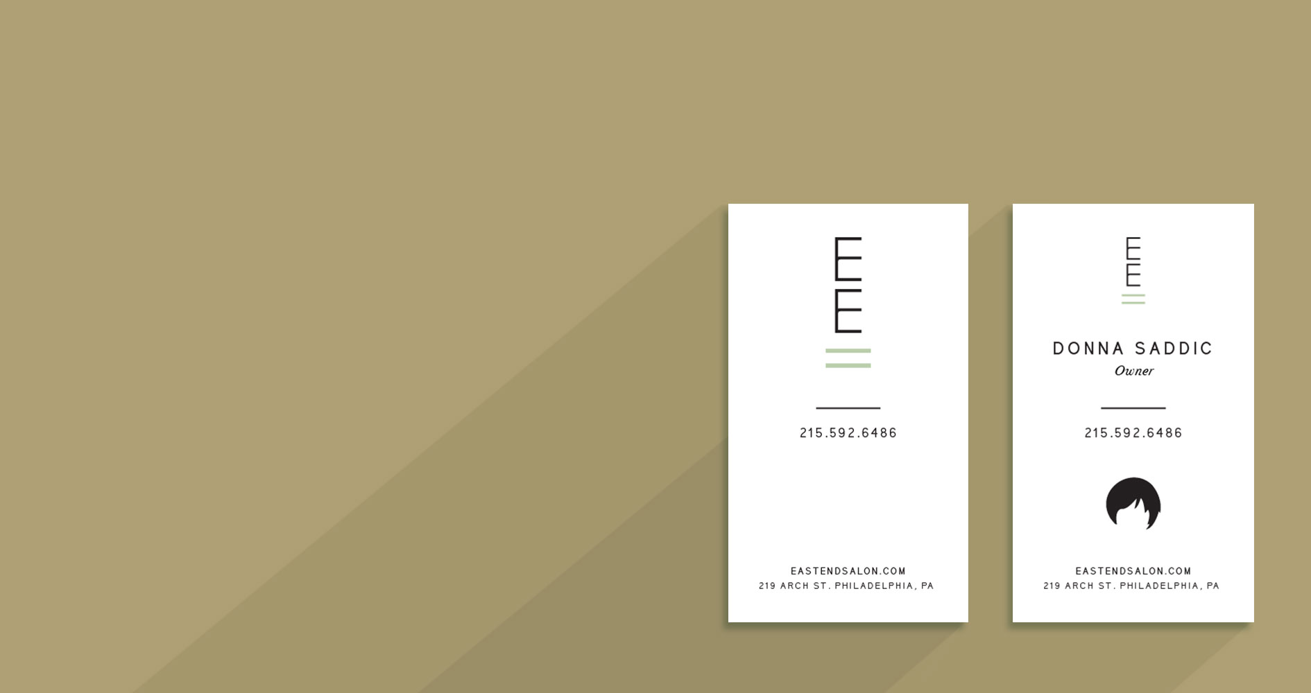 Philadelphia Business Card Design