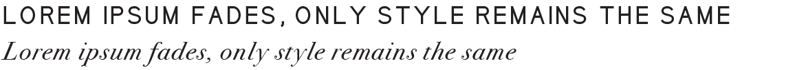 Brand Identity Heading Typography