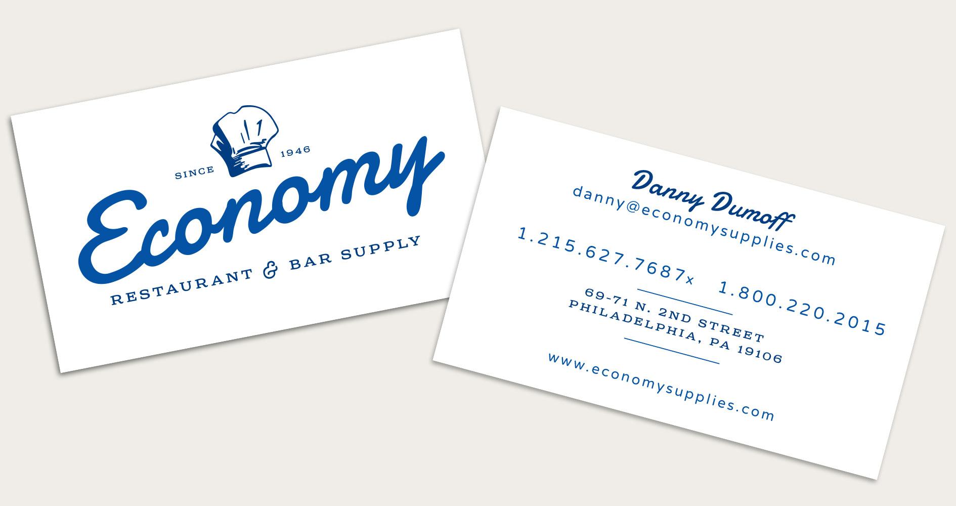 Business Card Print Identity